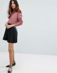 Vero Moda Pleated Mini Skirt - Black
