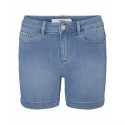 Vero Moda Seven NW Smooth Denim Shorts (LYSEBLÅ, S)