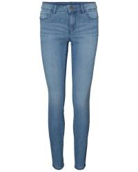 "Vero Moda Seven nw ss jeans (LYSEBLÅ, 32"", XS)"