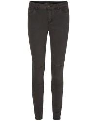 "Vero Moda Seven NW Zip Ankle Pant (GRÅ, 34"", 28)"