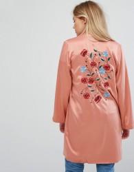 Vero Moda Silky Kimono - Pink