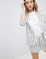 Vero Moda Stripe Blazer Co-Ord - Multi