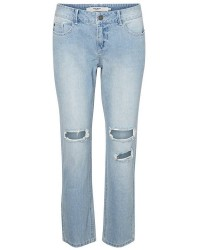 "Vero Moda Ten LW Regular Sideseam (LYSEBLÅ, 32"", 28)"