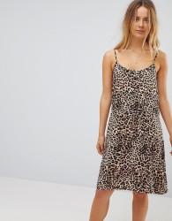 Vero Moda Tie Waist Dress - Multi