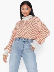 Vero Moda Vmbantex Ls Highneck Blouse Strikkede trøjer