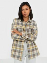 Vero Moda Vmcheck L/S Overshirt Exp Bluser & skjorter