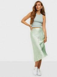 Vero Moda Vmchristas Satin H/W Skirt Vip Midi nederdele