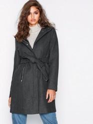Vero Moda Vmclassbessy 3/4 Wool Jacket Ga Frakker Mørkegrå
