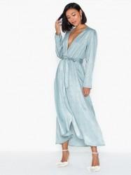Vero Moda Vmjulia V-Neck Ls Calf Dress Vma Ki Langærmede kjoler