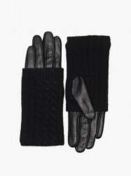 Vero Moda Vmmia Leather Gloves Boos Vanter & handsker