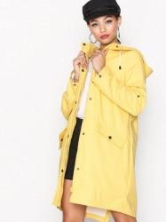 Vero Moda Vmsunset Long Coated Coat Noos Regnjakker Gul