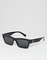 Versace 0VE4362 slim square sunglasses - Black