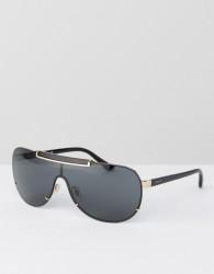 Versace Aviator Sunglasses - Black