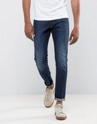 Versace Jeans Slim Fit Jeans In Darkwash Blue - Blue
