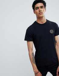 Versace Jeans t-shirt in black with small logo - Black