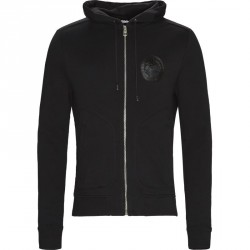 VERSACE Regular fit V800698A VJ00358 Sweatshirts Black