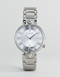 Versus Versace Kirstenhof VP490518 Bracelet Watch In Silver 34mm - Silver