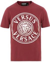 Versus Versace Logo Tee Bordeaux men L