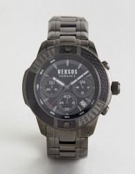 Versus Versace SP3805 Admiralty Bracelet Watch In Gunmetal - Silver