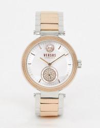 Versus Versace Star Ferry VSP791618 bracelet watch in mixed metal - Gold