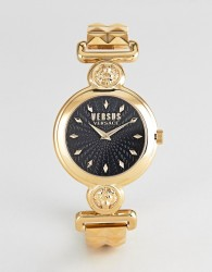 Versus Versace Sunnyridge VSPOL3418 Bracelet Watch In Gold 34mm - Gold