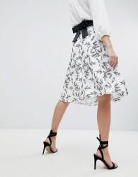 Vesper Printed Skater Skirt - Multi