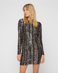 VILA Lange Beado Stripe kjole