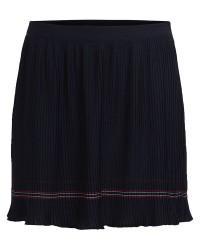 Vila Limit Skirt 14044897 (Mørkeblå, SMALL)