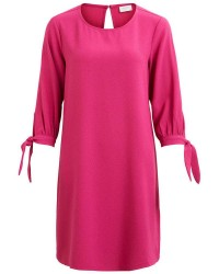 4d568c22f181 Vila Salina 3 4 Knot Dress 14045093 (Pink