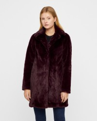 VILA Softa Faux Fur jakke