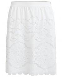 Vila Vibellina Skirt (HVID, MEDIUM)