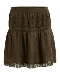 Vila Viemilia skirt (OLIVEN, XLARGE)