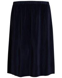 Vila Vigiram plisse skirt (MØRKEBLÅ, LARGE)