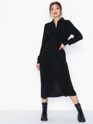 Vila Vilaia L/S Detail Shirt Dress-Fav N Maxikjoler