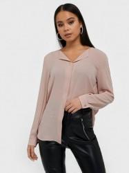 Vila Vilucy L/S Shirt - Noos Hverdagsbluser Mauve