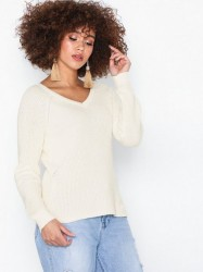 Vila Vimyntani Knit Pointelle L/S Top-No Bluser & skjorter