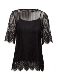 Vimaggy 2/4 Sleeve Top/Dc/Gv