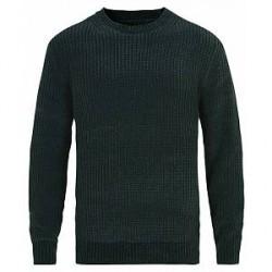 Vince Knitted Velvet Sweater Dark Amazon