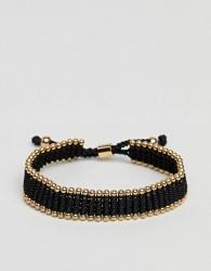 Vitaly Diario Bracelet In Black & Gold - Black