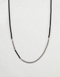 Vitaly Helix Necklace In Stainless Steel - Silver