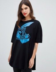 Vivienne Westwood Anglomania baggy t-shirt - Black