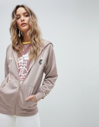 Vivienne Westwood Anglomania Hoodie With Back Logo - Pink