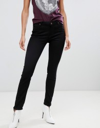 Vivienne Westwood Anglomania Mid Rise Super Skinny Jeans With Pocket Detail - Black