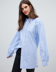 Vivienne Westwood Anglomania utility shirt - Blue