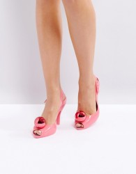 Vivienne Westwood for Melissa Lady Dragon Heeled Sandal - Pink