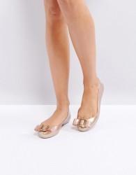Vivienne Westwood for Melissa Space Love Flat Ballerina - Beige