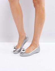 Vivienne Westwood for Melissa UltraGirl Flat Ballerina - Silver