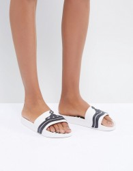 Vivienne Westwood For Melissa White Beach Slides - White