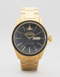 Vivienne Westwood Gold Metal Watch - Gold