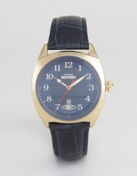 Vivienne Westwood Leather Watch In Navy VV175BLBL - Navy